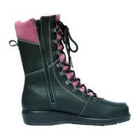 Women's Martino Banff Waterproof Boot Black/Fuchsia Grizzly Leather/Suede
