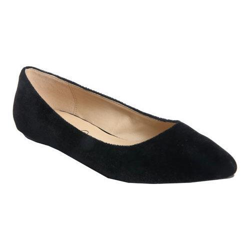 ... Women's Slip-ons. Women's Penny Loves Kenny Aaron II Dress Flat  Black Velvet