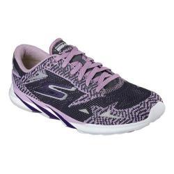 Women's Skechers GOmeb Speed 3 2016 Running Shoe Purple/Charcoal
