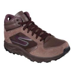 Women's Skechers GOtrail Odyssey High Top Running Shoe Chocolate