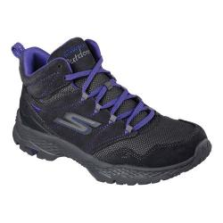 Women's Skechers GOwalk Outdoors Excursion Hiking Boot Charcoal/Purple