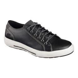 Men's Skechers Relaxed Fit Porter Ressen Sneaker Black/White