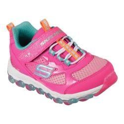 Girls' Skechers Skech-Air Ultra Bitty Bubbles Sneaker Neon/Pink/Multi