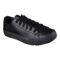 Women's Skechers Work Relaxed Fit Arispel Slip Resistant Sneaker Black