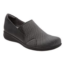 Women's SoftWalk Tilton Black/White Stretch/Smooth Leather/Patent