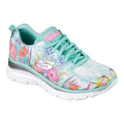 Women's Skechers Fashion Fit Spring Essential Sneaker Aqua/Multi