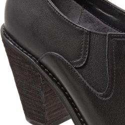 Women's SoftWalk Fargo Shootie Black Smooth Leather