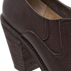 Women's SoftWalk Fargo Shootie Dark Brown Smooth Leather