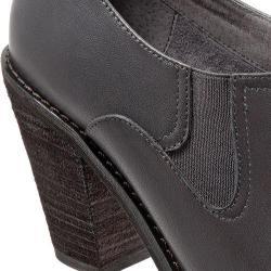 Women's SoftWalk Fargo Shootie Dark Grey Smooth Leather