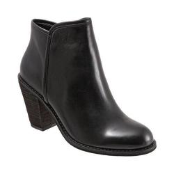 Women's SoftWalk Frontier Boot Black Smooth Leather
