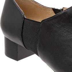 Women's Trotters Lillian Bootie Black Leather