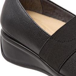 Women's Trotters Marley Slip-On Black Leather