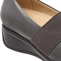 Women's Trotters Marley Slip-On Dark Grey Leather