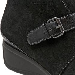 Women's Trotters Mindy Ankle Boot Black Suede