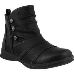 Women's Spring Step Anatol Ankle Boot Black Synthetic