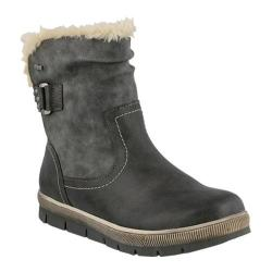 Women's Spring Step Yamma Ankle Boot Gray Synthetic