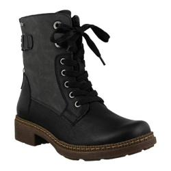 Women's Spring Step Zowie Ankle Boot Black Synthetic