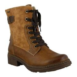 Women's Spring Step Zowie Ankle Boot Medium Brown Synthetic