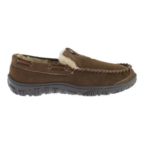 Men 39 S Clarks Venetian Moccasin Slipper Sage Leather Free Shipping On Orders Over 45