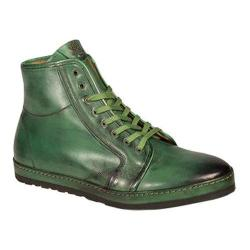 Men's Mezlan Rino High Top Green Calf