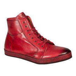 Men's Mezlan Rino High Top Red Calf