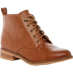 Women's Rocket Dog Meno Ankle Boot Tan Sierra PU