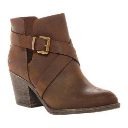 Women's Rocket Dog Sasha Bootie Brown PU