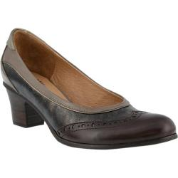 Women's Spring Step Itambe Pump Brown Multi Leather