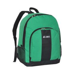 Everest Dual Side Mesh Pocket Backpack BP2072 Emerald Green/Black