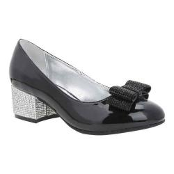 Girls' Nina Gisel Pump Black Patent