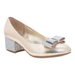 Girls' Nina Gisel Pump Platino Crackle