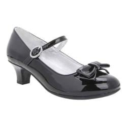 Girls' Nina Loretta Mary Jane Black Patent