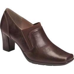 Women's A2 by Aerosoles Diamond Ring Shoe Bootie Brown Faux Leather