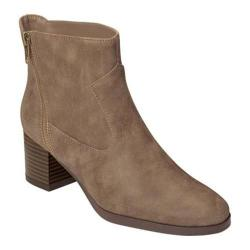 Women's A2 by Aerosoles Homeroom Ankle Boot Tan Faux Leather
