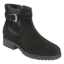 Women's Aerosoles Notebook Ankle Boot Black Suede