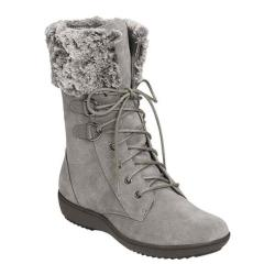 Women's Aerosoles Pinelands Mid Calf Boot Dark Gray Suede
