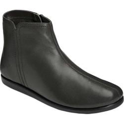 Women's Aerosoles Willingly Ankle Bootie Black Leather