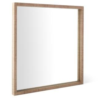 Calvin Klein Cooper Square Raffia Mirror
