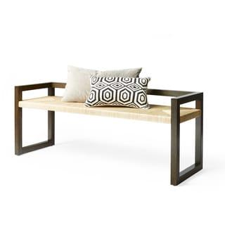 Calvin Klein Cooper Woven Bench