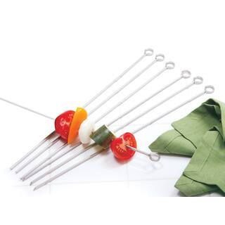 "Norpro 1934 14"" Stainless Steel Skewers 6-count