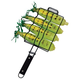 "GrillPro 24890 6-3/4"" X 10-1/2"" Nonstick Corn Basket"