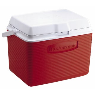 Rubbermaid FG2A1304MODRD 24 Quart Modern Red Personal Cooler