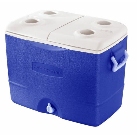 Rubbermaid FG2A9200PMTL 50 Quart Durachill Cooler Assorted Colors