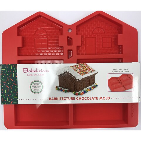 Fox Run Bakelicious Chocolate Mold Naughty & Nice