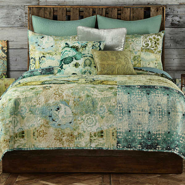 Shop Tracy Porter Chloe Quilt Collection Green Free