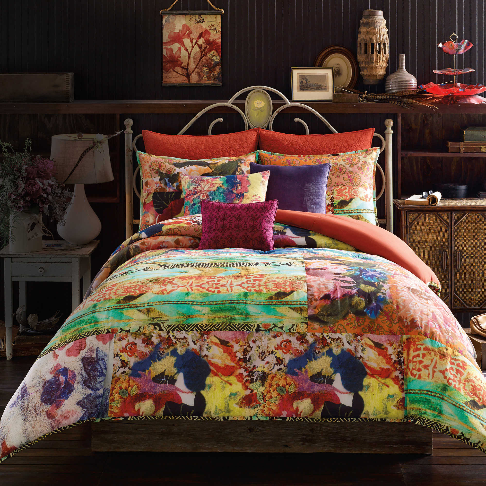 Tracy Porter Poetic Wanderlust Comforter Mini Set full//queen