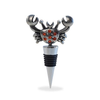 Puzzled Metal Crab Wine Stopper
