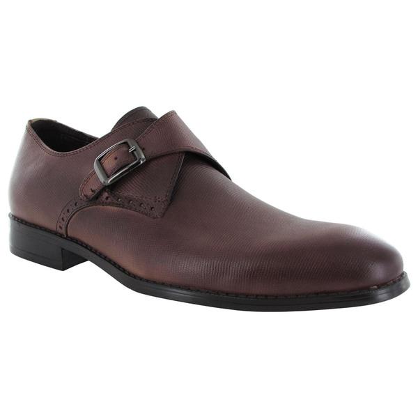 Robert Wayne Mens Valor Slip On Buckled Loafers