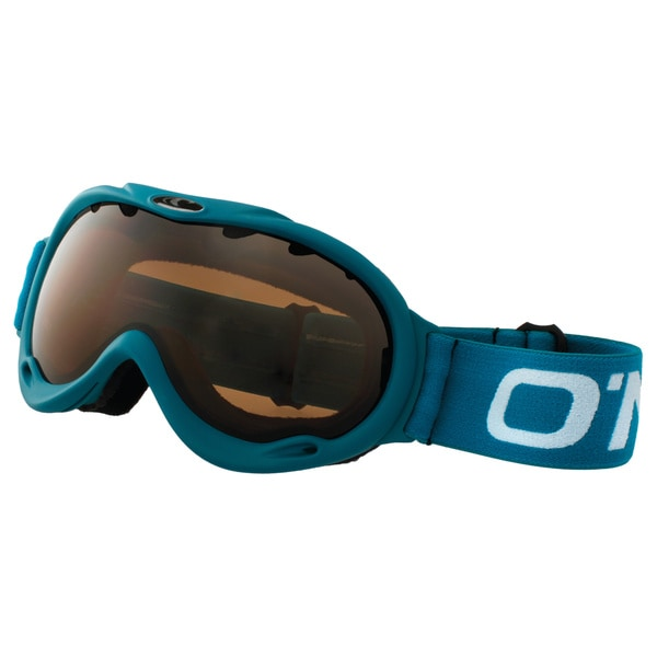 SnowGoggles Medium Teal Brown Lens