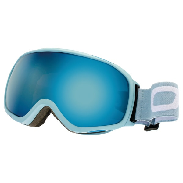 SnowGoggles Medium Blue Silver Mirror